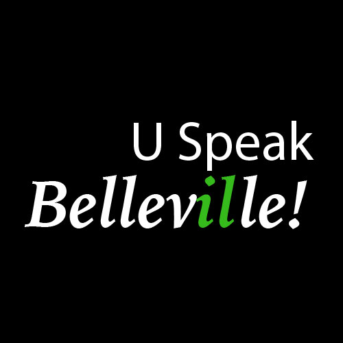 U Speak Belleville Logo